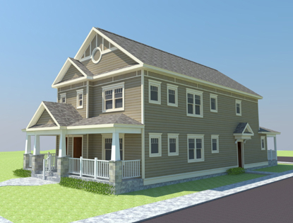 Accessible Two Family Model